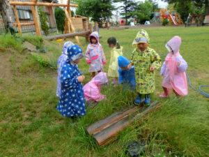 あおい幼稚園雨の日の遊び方